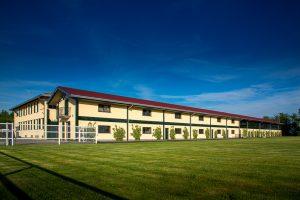 Villa Sant'Uberto e i suoi campi di addestramento